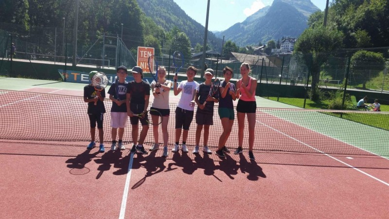 Morzine teens tennis course (12-18 y/o) - 1hr30/day