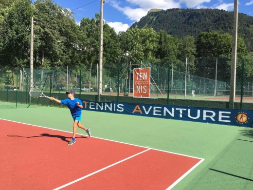 Morzine teens tennis...
