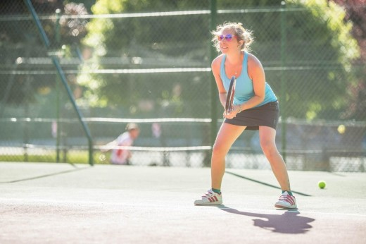 Morzine adults tennis...