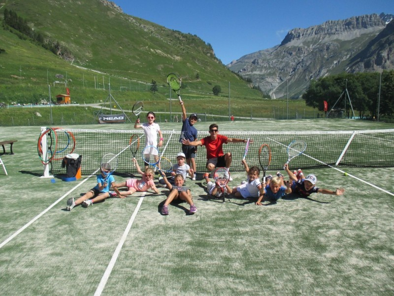 Val d'Isère Multi-activities Tennis Course (7-14 y/o)