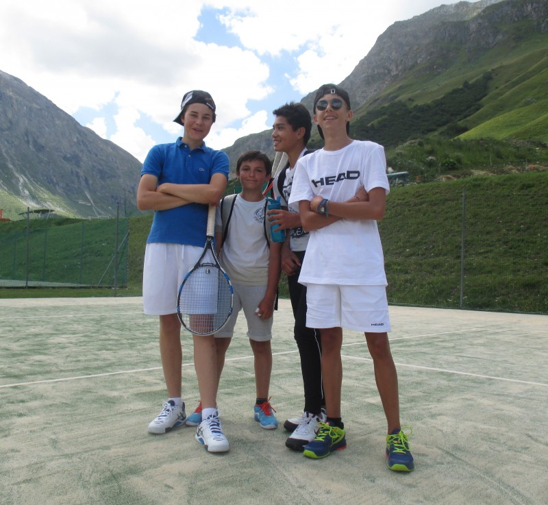 Val d'Isère teens tennis courses (11-18 y/o) - 3hr/day
