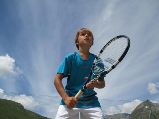 Les Arcs teens tennis...
