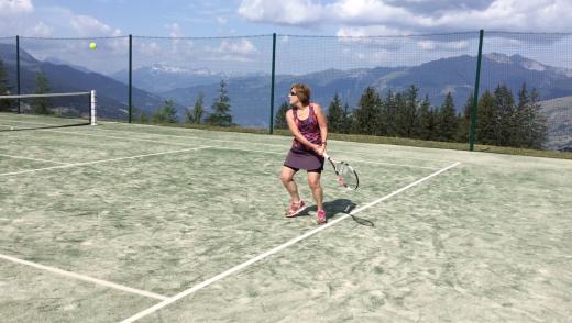Les Arcs adults tennis...